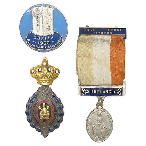 Collection of Irish & Belgian Medals S/3