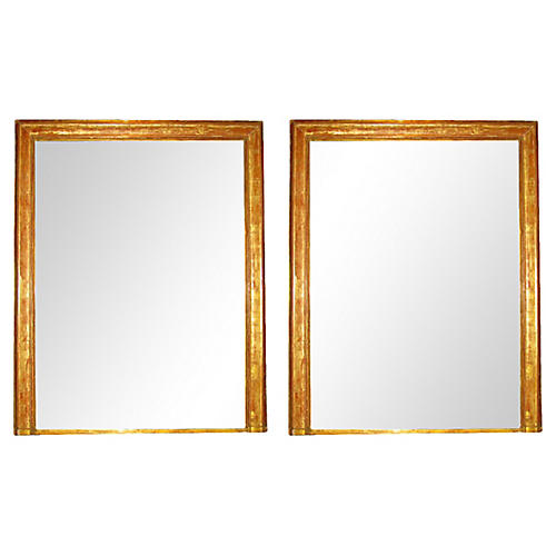 C. 1850 Louis Philippe Mirrors, Pair