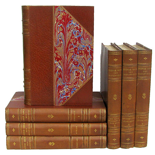 C.1900 George Sand Limited Editions, S/7
