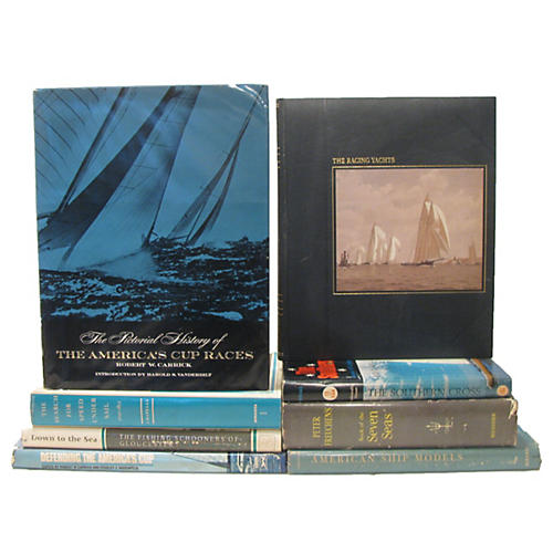 Sailing Library Collection, S/8