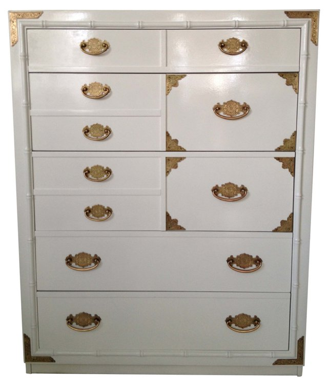 Chinoiserie   Campaign-Style Chest