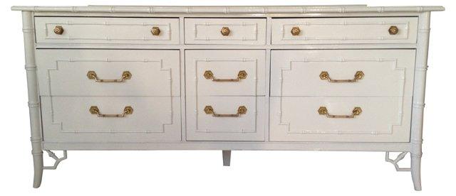 Thomasville Faux-Bamboo   Dresser