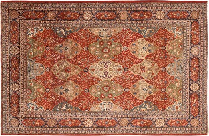 Antique Turkish Sivas, 9' x 6'