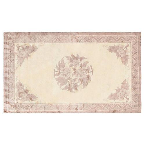 Antique Chinese Carpet, 3' x 5'