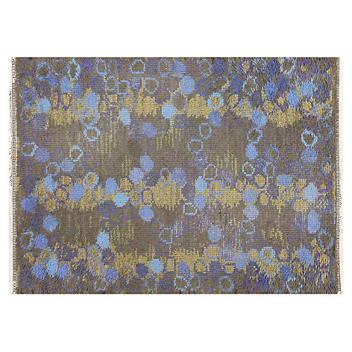 """Scandinavian Carpet, 4'2"""" x 5'7"""""""