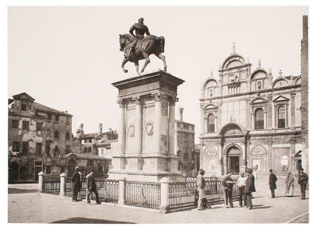 Colleoni Monument, Venice, C. 1890