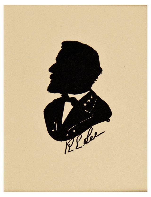 General Robert E. Lee Silhouette