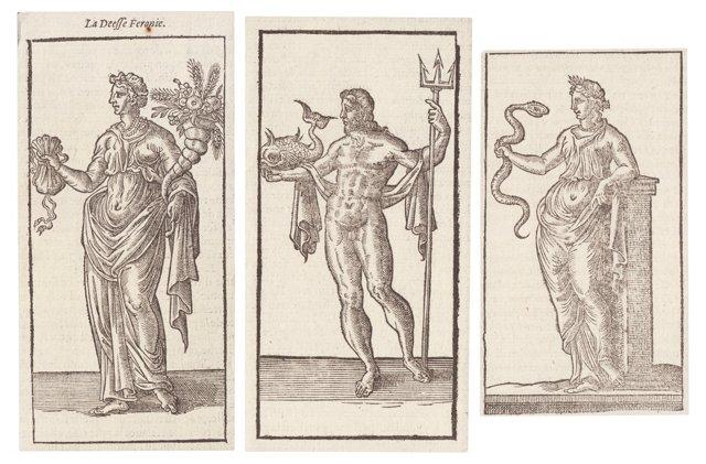 Neptune & Roman Goddesses, S/3