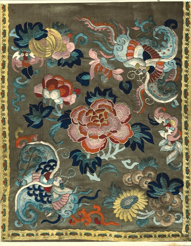 Lithograph of Chinese Embroidery, 1922