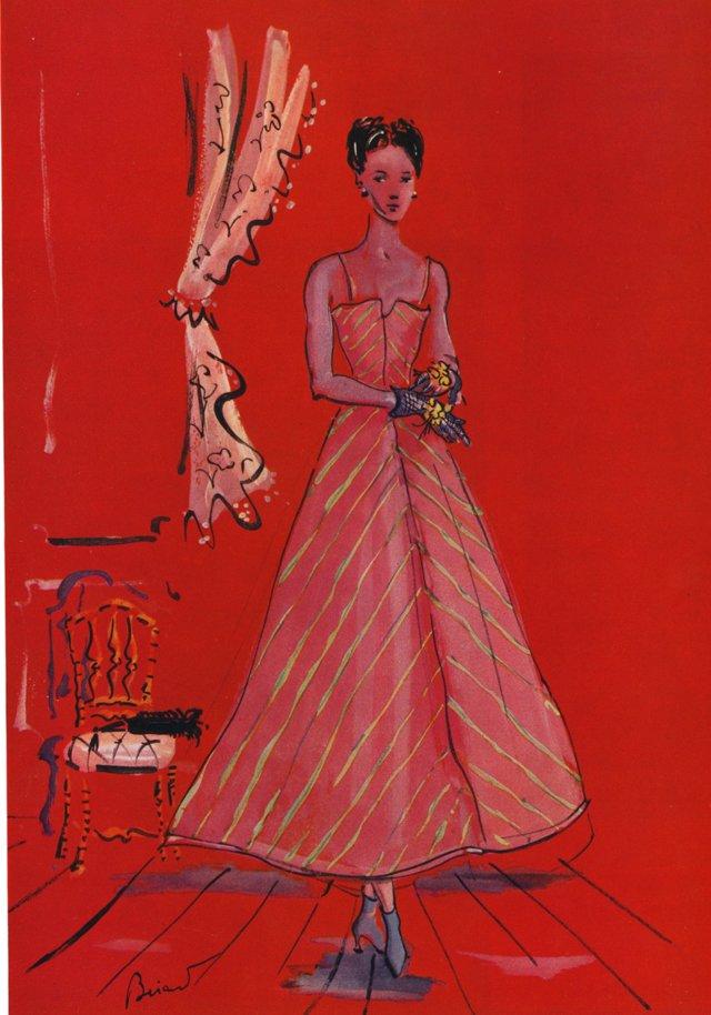 Schiaparelli Couture by Bérard, 1937