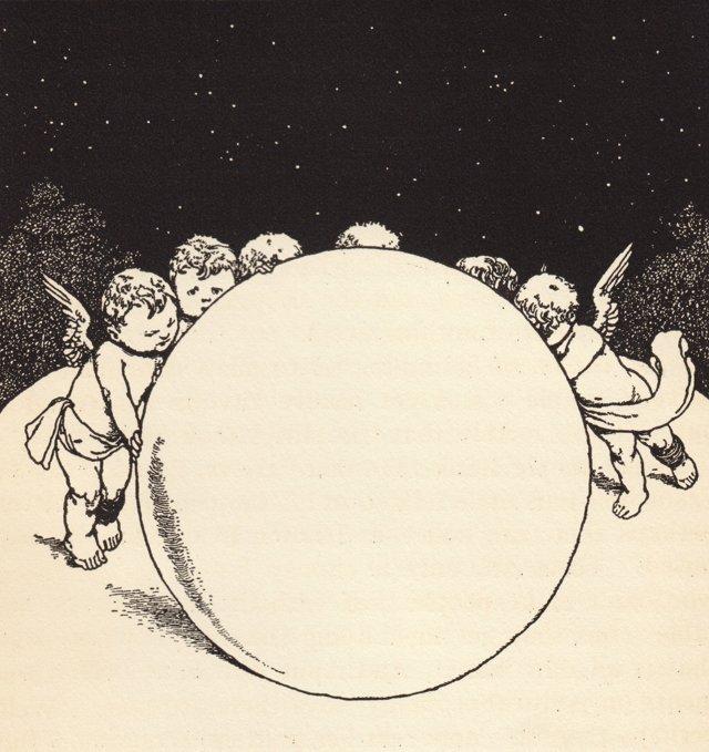 Cherubs & Planet, C. 1940