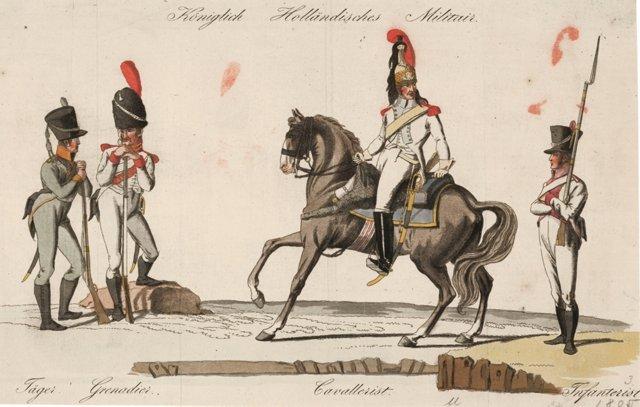Royal Dutch Army, C.1805