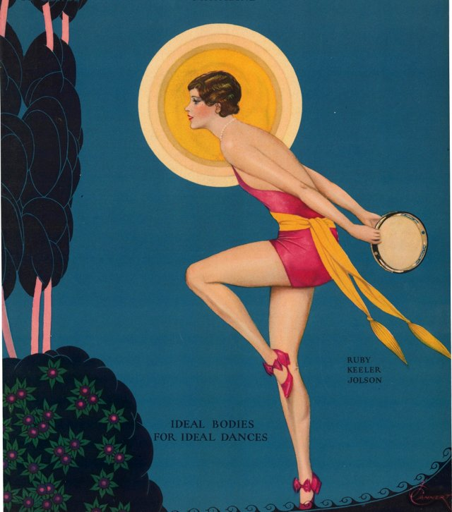 Art Deco Portrait of a Dancer