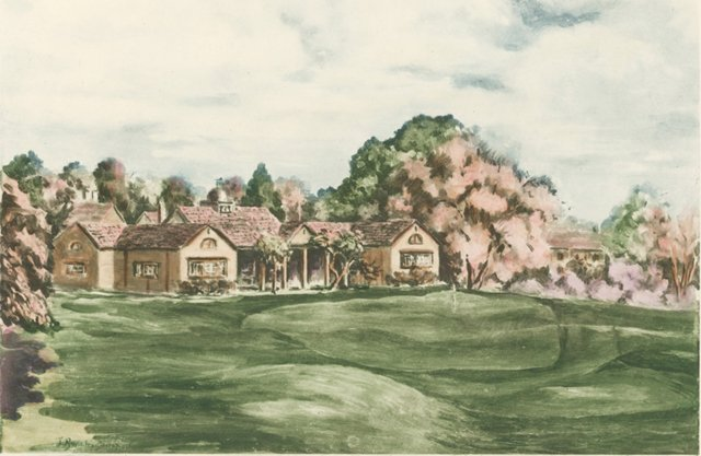 14th Green at Woking Golf Course