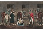 Hunter & Horses in a Stable, 1851