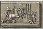 Soldier in Chariot by Piranesi, C. 1790