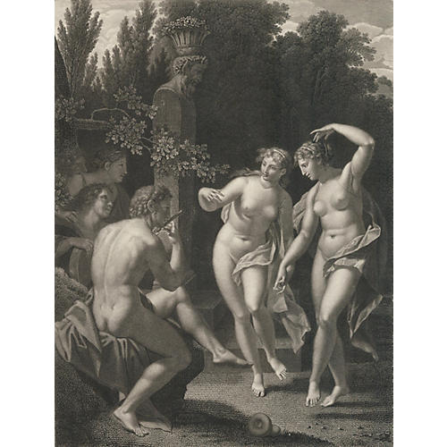 The Dance of the Nymphs, C. 1815