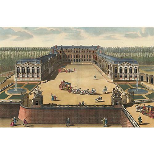 17th-C. Château de St. Cloud, Paris