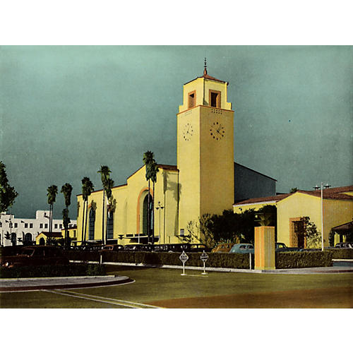 Union Station, Los Angeles, 1943