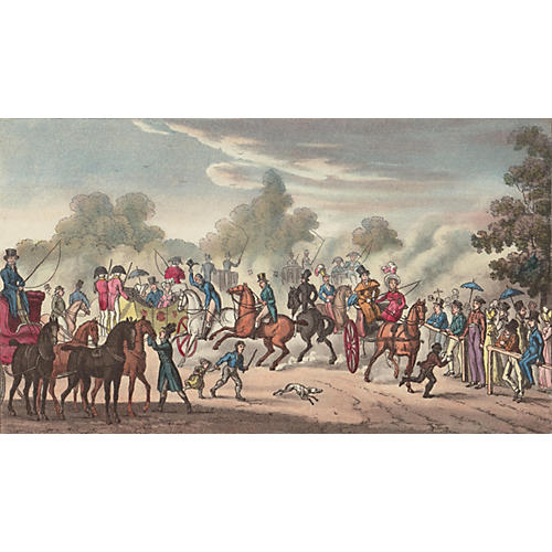 Going Out for the Hunt, C. 1830