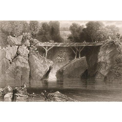 Bridge at Norwich, 1840