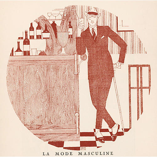 Men's Fashion by Barclay, Paris, C. 1922