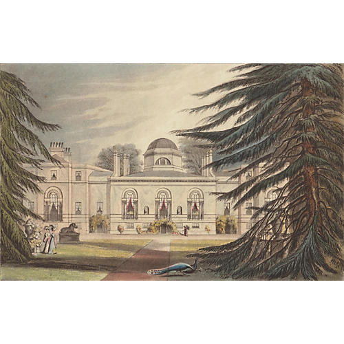 Chiswick House, London, 1823