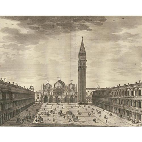 San Marco, Venice, 1722