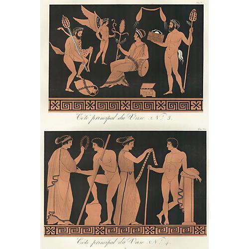 Ancient Greek Vase Design, 1813