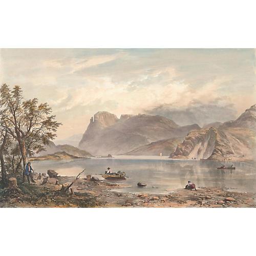 Emmerdale Lake, England, 1853