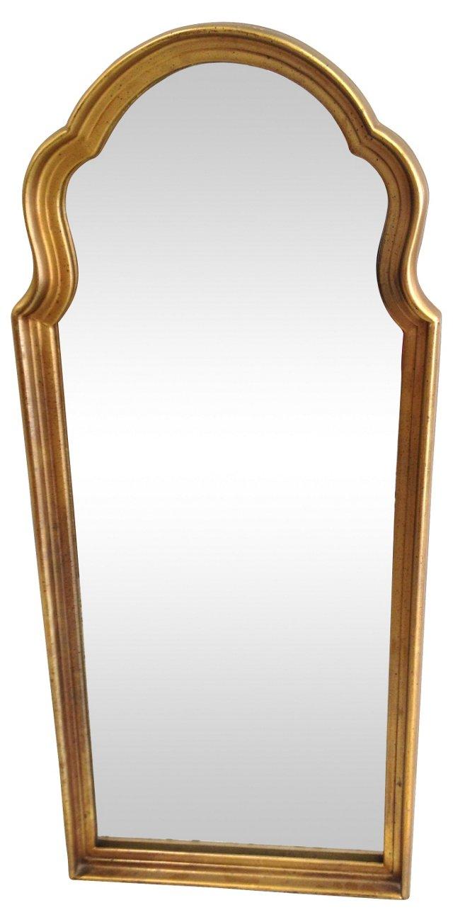 Gilt  Regency-Style Mirror