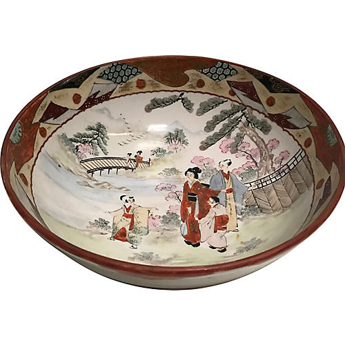 Hand-Painted Chinese Bowl