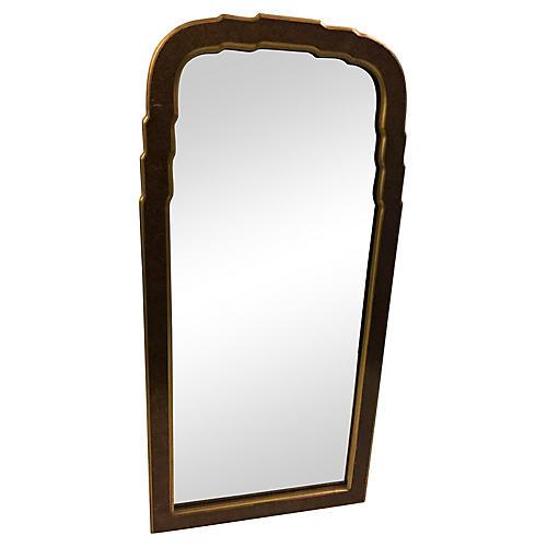 Faux-Tortoise Regency Mirror