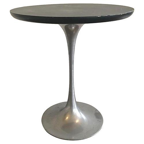 Mid-Century Modern Chrome Side Table