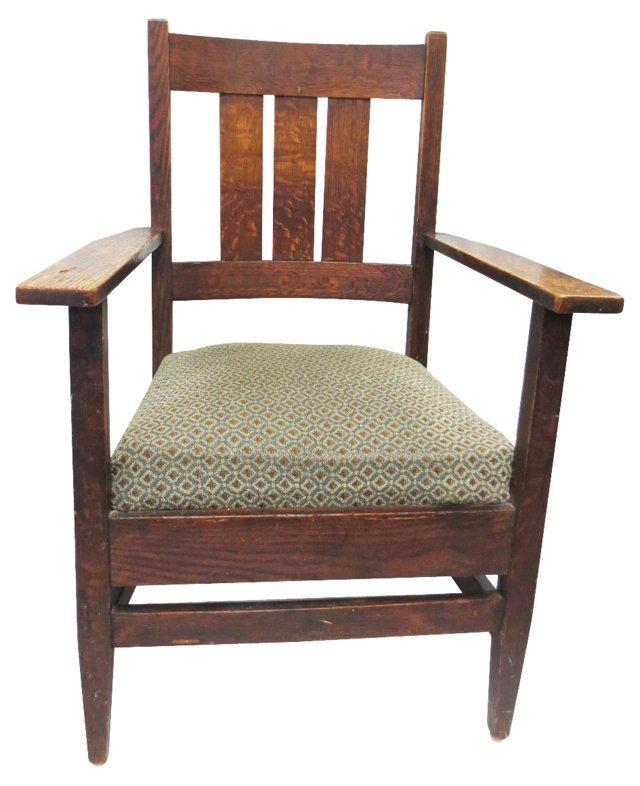 Mission Oak Armchair