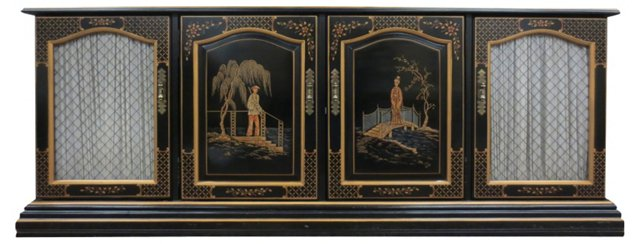 Chinese-Style Lacquer Sideboard