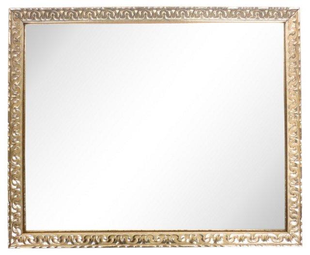 Gilt Rectangular Mirror