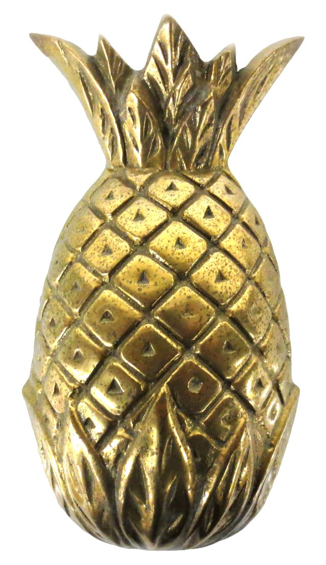 Brass Pineapple Door Knocker