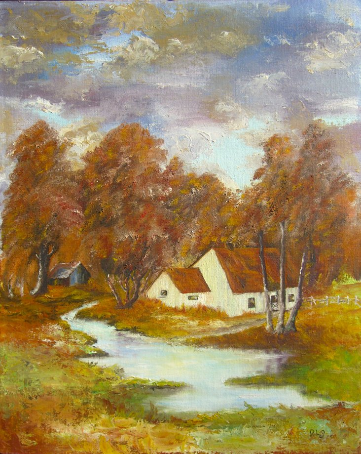 Cottage Among the Trees