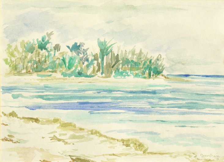 Peaceful Beach, 1991