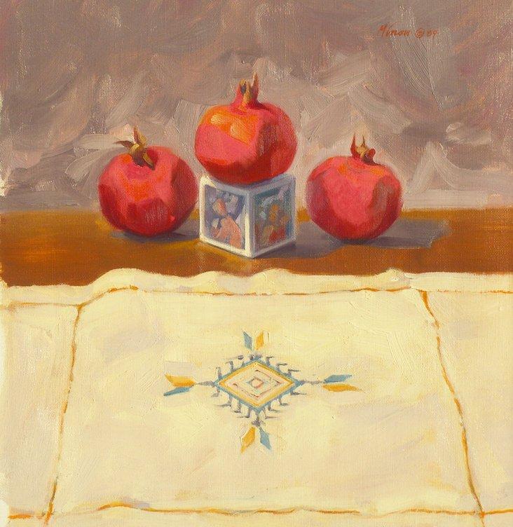 @1d/Three Pomegranates, 1989