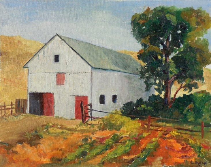 Rustic Barn, 1970s