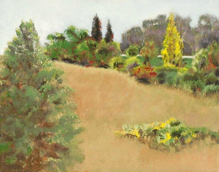 1970s Hillside Landscape