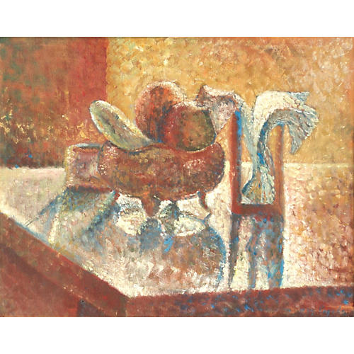 Kitchen Still Life, 1974