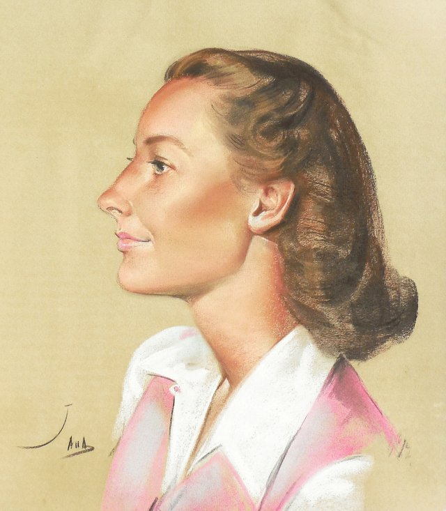 Study of a Young Woman, 1949