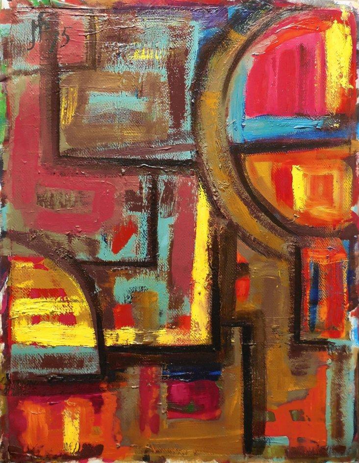 Constructivist Abstract, 1975