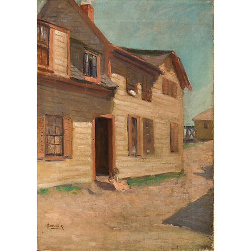 Old House and Dog, 1880