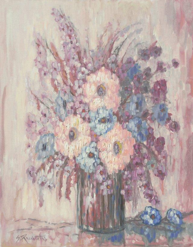 Lilac & Blue     Still     Life