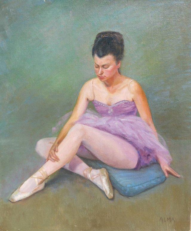 Seated Ballerina, 1970s