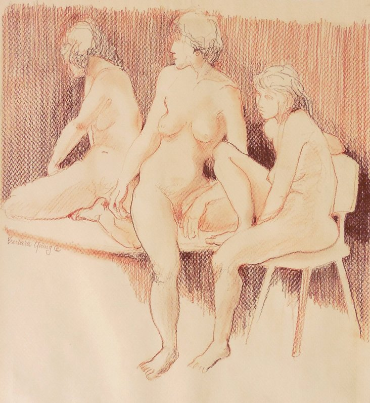 @RL/ Nude Study by Barbara Young, 1965
